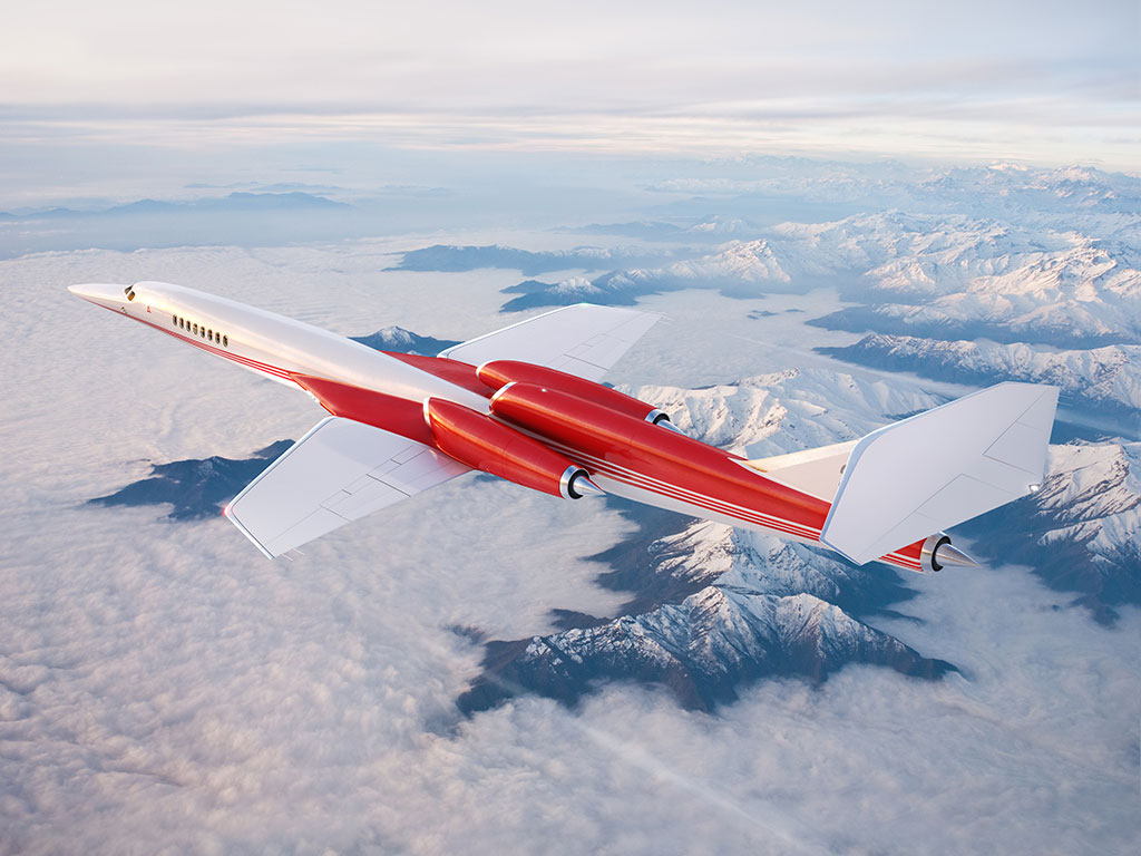 World's Fastest Passenger Aircraft, Just Had a Son