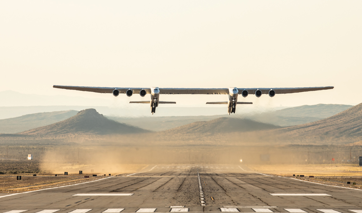 The World's Largest Plane in Flight