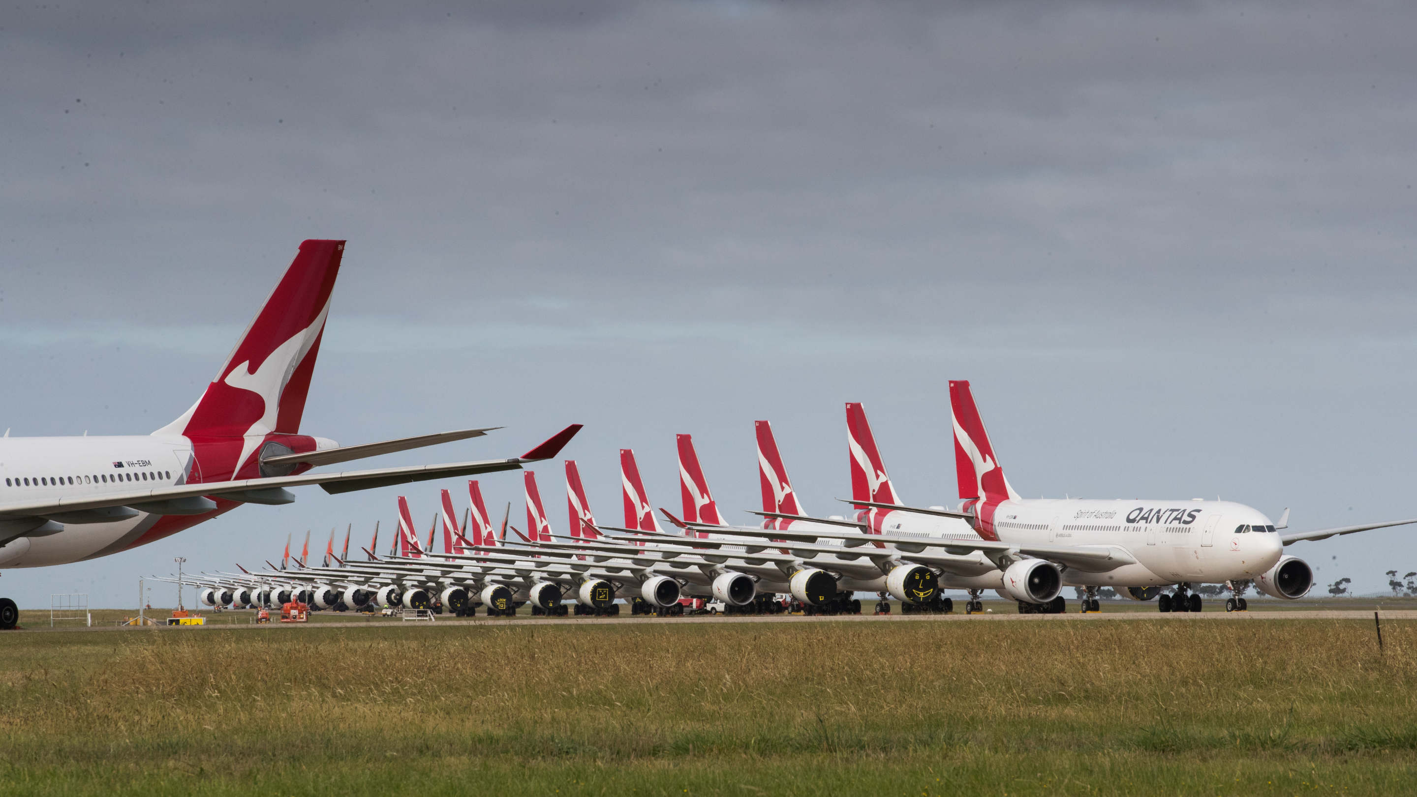 Qantas stuck on the tarmac in pandemic recovery journey